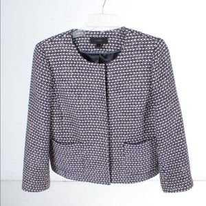 J crew jacket. Like new. Size 6. Offers welcome!!